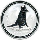 Kleines Bild von Lunar I Hund 2006 1oz Silber