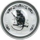 Kleines Bild von Lunar I Affe 2004 1oz Silber