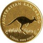 Kleines Bild von Nugget Kangaroo 1/20oz Gold (diverser Jahrgang)