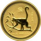 Kleines Bild von Lunar Affe 2004 1/10oz Gold