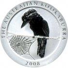 Kleines Bild von Kookaburra 2008 2oz Silber