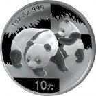 Kleines Bild von Panda 2008 1oz Silber