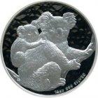 Kleines Bild von Koala 2008 1kg Silber