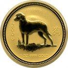 Kleines Bild von Lunar Hund 2006 1oz Gold