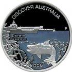 Kleines Bild von Darwin 2008 PP 1oz Silber