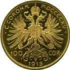 Kleines Bild von 100 Kronen Gold