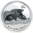Bild von Lunar II Maus 2008 1kg Silber