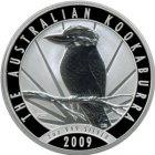 Kleines Bild von Kookaburra 2009 2oz Silber