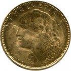 Kleines Bild von Vreneli 10 SFRs. Gold (diverser Jahrgang)