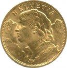 Kleines Bild von Vreneli 20 SFRs Gold (diverser Jahrgang)