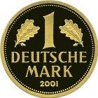 Kleines Bild von 1 DM BRD 2001 Gold (div. Prägestätten)