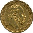 Kleines Bild von 20 Mark Wilhelm I Gold (div. Jahrgänge)