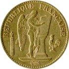 Kleines Bild von Stehender Engel  20 Fr. Gold