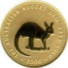 Kleines Bild von Nugget Kangaroo 1/4oz Gold (diverser Jahrgang)