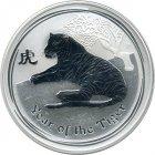 Kleines Bild von Lunar II Tiger 2010 1kg Silber