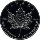 Kleines Bild von Maple Leaf 1oz Platin (div. Jahrgänge)