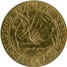 Kleines Bild von 1000 Schilling Babenberger 1976 Gold