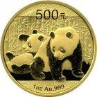 Kleines Bild von Panda 2010 1/20oz Gold