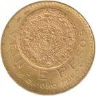 Kleines Bild von 20 Pesos Mexiko Gold