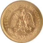 Kleines Bild von 2 Pesos Mexiko Gold