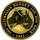 Kleines Bild von Nugget Kangaroo 1oz Gold (diverser Jahrgang)