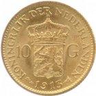 Kleines Bild von 10 Gulden Gold