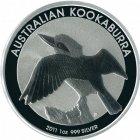 Kleines Bild von Kookaburra 2011 1oz Silber
