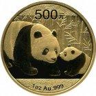Kleines Bild von Panda 2011 1oz Gold