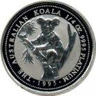 Kleines Bild von 1/10oz Koala in Platin