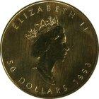 Kleines Bild von Maple Leaf 1/10oz Gold (div. Jahrgang)
