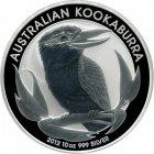Kleines Bild von Kookaburra 2012 1oz Silber