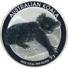 Kleines Bild von Koala 2012 1/2oz Silber
