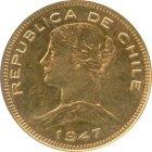 Kleines Bild von 100 Chile Pesos Gold