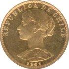 Kleines Bild von 20 Chile Pesos Gold