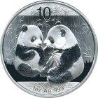 Kleines Bild von Panda 2009 1oz Silber