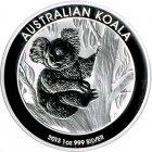 Kleines Bild von Koala 2013 1oz Silber
