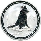 Kleines Bild von Lunar I Hund 2006 5oz Silber