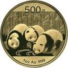 Kleines Bild von Panda 2013 1/20oz Gold