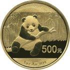 Kleines Bild von Panda 2014 1/20oz Gold