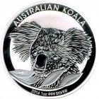 Kleines Bild von Koala 2014 1oz Silber