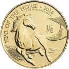 Kleines Bild von  Royal Mint Lunar Pferd 2014 1oz Gold
