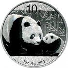 Kleines Bild von Panda 2011 1oz Silber