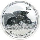 Kleines Bild von Lunar II Maus 2008 1oz Silber