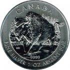 Kleines Bild von Maple Leaf Wildlife 2013 Bison 1oz Silber