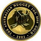 Kleines Bild von Nugget Kangaroo 1oz Gold (diverse Jahrgänge, ab 10 Stück)
