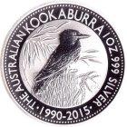 Kleines Bild von Kookaburra 2015 1oz Silber
