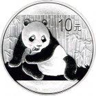 Kleines Bild von Panda 2015 1oz Silber