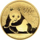 Kleines Bild von Panda 2015 1/20oz Gold