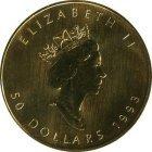 Kleines Bild von Maple Leaf 1/20oz Gold (div. Jahrgang)