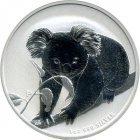 Kleines Bild von Koala 2010 1/2oz Silber